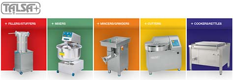 Machinery for the meat industry