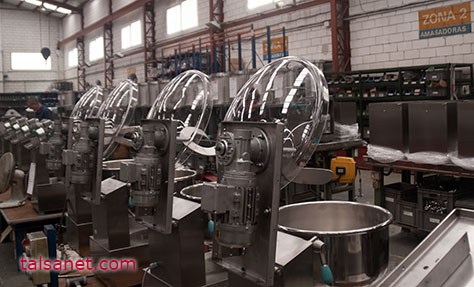 TALSA UPDATES ITS RANGE OF MIXERS FOR THE MEAT INDUSTRY